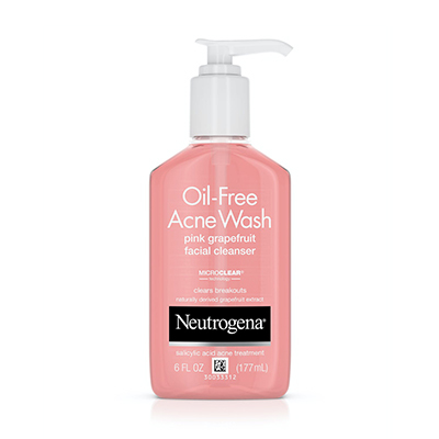 Neutrogena Oil Free Acne Wash Pink Grapefruits Cleanser