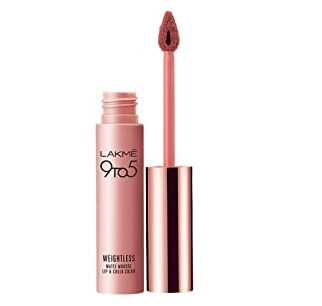 Lakme 9to 5 weightless mousse lip and cheek color