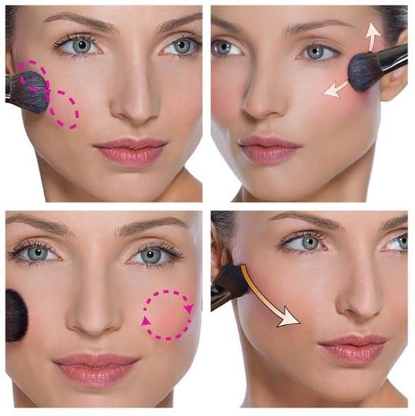 How to apply blush | How to apply blusher